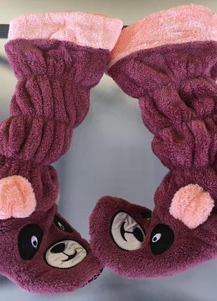 Тёплые и комфортные тапочки-валенки турецкой фирмы nikoletta!🐾