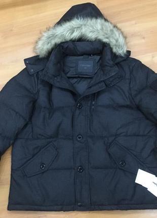 Новая фирменная мужская куртка calvin klein оригинал!