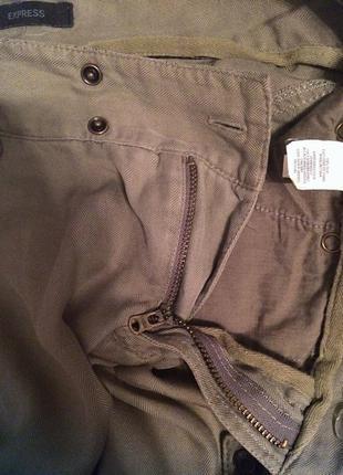 Костюм пиджак +штаны  хаки оригинал express!