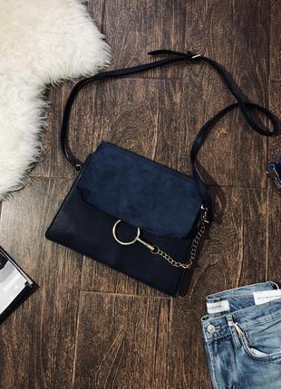 Шикарная кожаная сумка от извечтного дорогого бренда