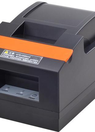 Чековый принтер Xprinter XP-Q90EC USB + Ethernet авто обрез чека