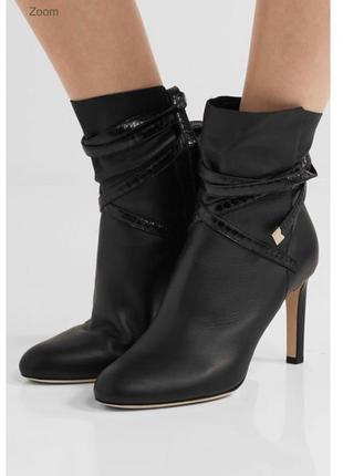 Шикарные осенние туфли ботильоны на каблуке оригинал коллекция...
