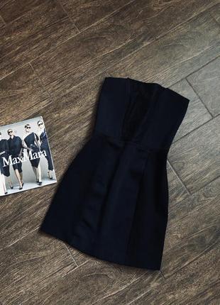 Очень красивое мини черное облегающее платье