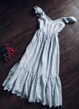 Шикарное натуральное трендовое платье