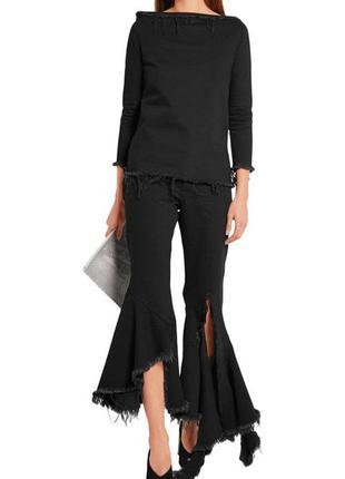 Потрясающая джинсовая блуза{плотный джинс}от marques almeida