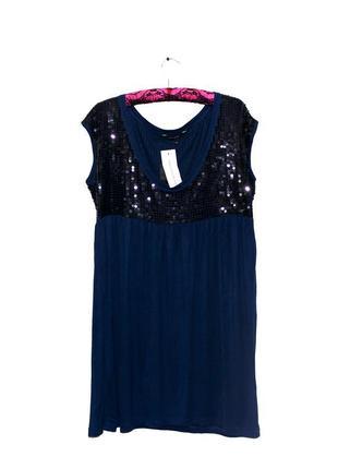 French connection. платье с декорацией пайеток. наш размер 48