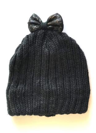 Теплая детская зимняя двойная шапка на флисовой подкладке, c&a...