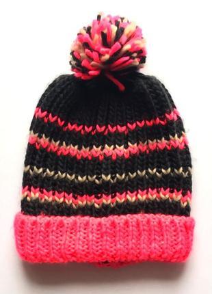 Тёплая детская шапка бини , takko fashion, 8-15 лет.