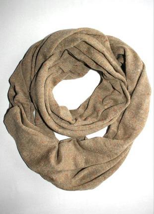 Эффектный трикотажный шарф-хомут, снуд. takko fashion accessor...