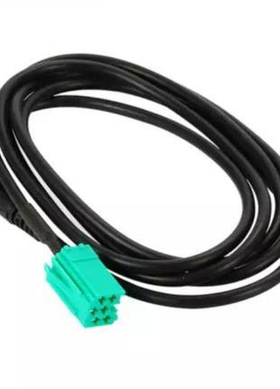 AUX - кабель для штатных магнитол Renault aux renault аукс рено