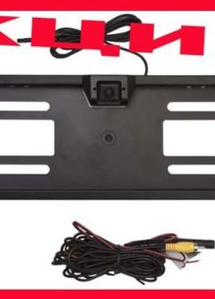 Камера заднего вида в номерной рамке