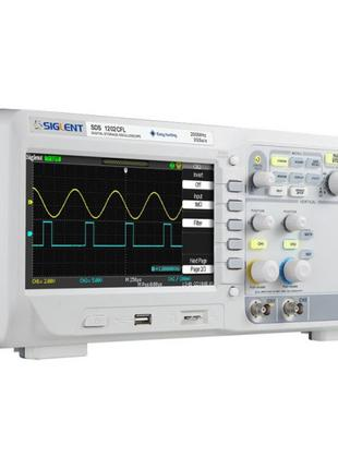 Цифровой осциллограф SIGLENT SDS1202CFL