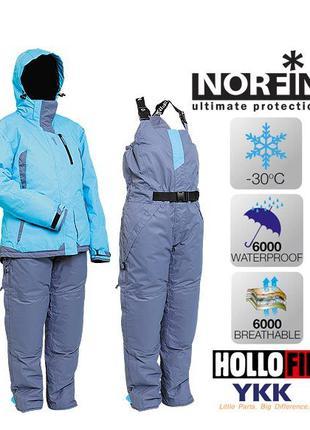 Костюм зимний из двух частей Norfin Snowflake 5290