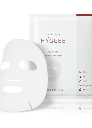 Листовая маска для лица из экстрактов бамбука и гиалуроновой к...