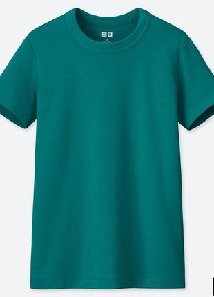 Классическая женская футболка uniqlo u в винтажном стиле