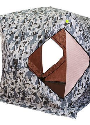 """Палатка зимняя """"куб"""" утепленная для зимней рыбалки 180*180*205 см"""