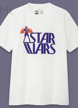 Футболка uniqlo звездные войны star wars ut