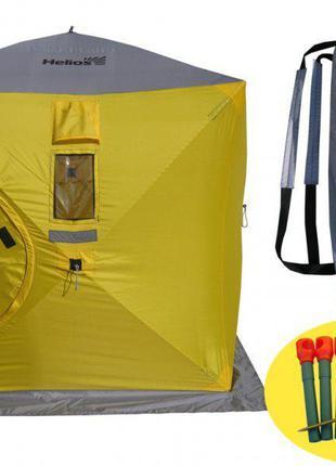 Палатка для зимней рыбалки Куб Helios