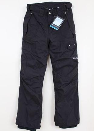 Черный женские лыжные штаны для сноуборда billabong