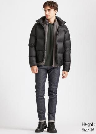 Мужская куртка пуховик мужской дутик uniqlo