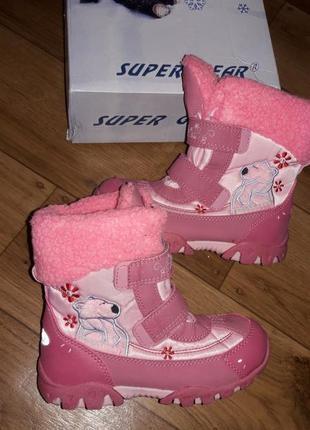 Зимние сапожки(термо-ботинки)