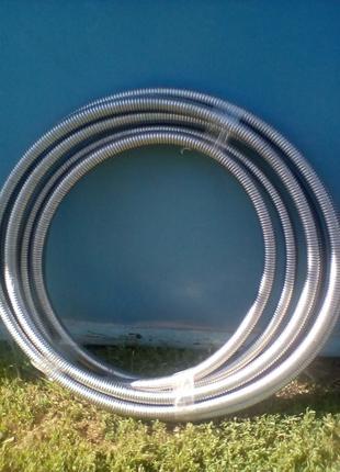 Гофротруба нержавійка діаметр 26.3мм.