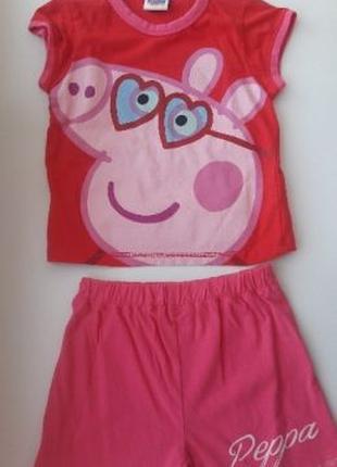 Фирменный костюм со Свинкой Пеппой, новый