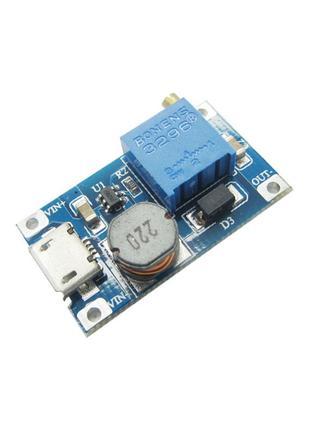 Повышающий преобразователь, модуль DC-DC MT3608 micro USB