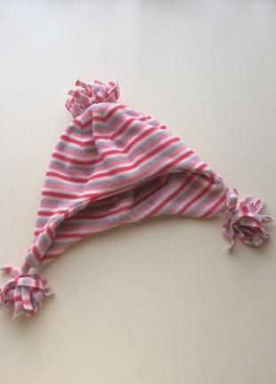 Флисовая шапочка от mothercare на 1-3 года