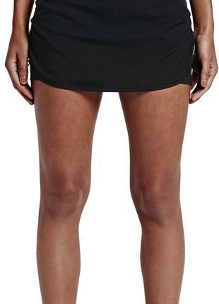 Xs, l. женская спортивная юбка с внутренними шортами nike riva...
