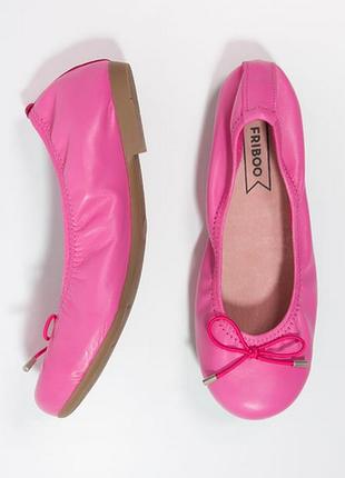 Новые балетки friboo, испания. 100% мягкая кожа. туфли