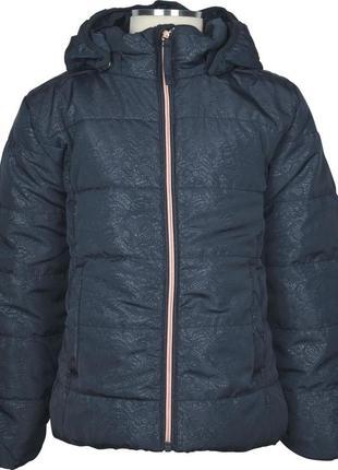 Новая куртка на флисе name it (деми/зима) 152 индиго bionic fi...