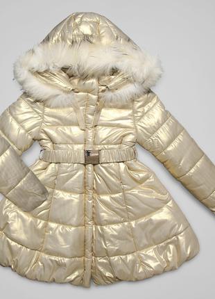 Утеплённое пальто премиум she.ver chic fun&fun парка/куртка/пу...