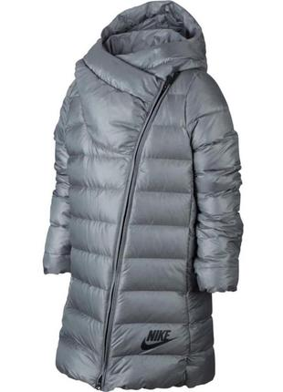 75% пух. новый, детский пуховик nike парка/куртка/пальто (м,10...