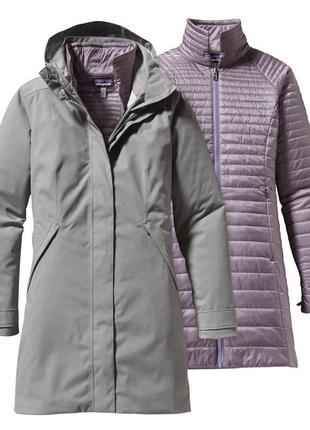 Новая парка patagonia vosque 3 in 1 l (46-48) куртка/пальто/пл...