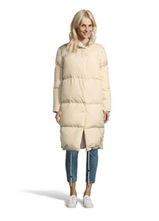 Новый! модный пуховик-одеяло mexx пух/перо пальто слоновая кость