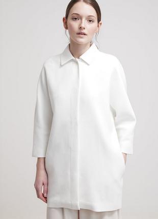 Новое пальто kiomi кокон оверсайз белое жакет летнее пальто пи...