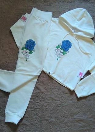 Новый спортивный костюм оверсайз juicy couture оригинал белый ...