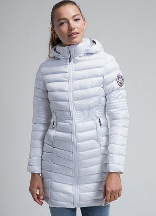 Новое термо пальто geographical norway парка/куртка деми/зима ...