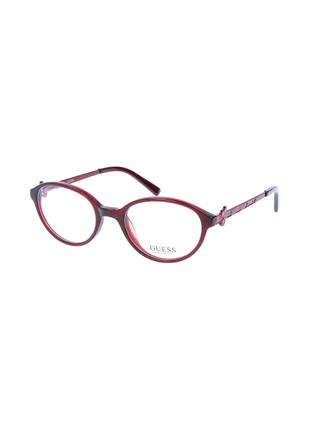 Новая оправа guess. оригинал. бордо с блестками очки