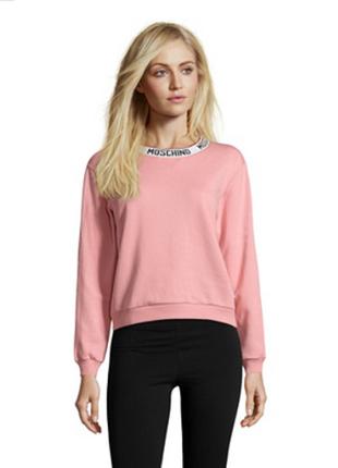 Новый оверсайз свитшот moschino свитер, толстовка