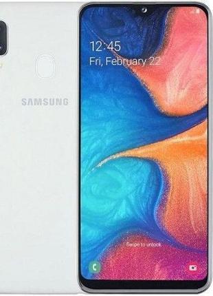 Смартфон Samsung Galaxy A20e SM-A202F 3/32GB White (SM-A202FZWD)