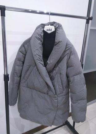 Новый пуховик одеяло add куртка, италия it46. куртка кимоно нюанс
