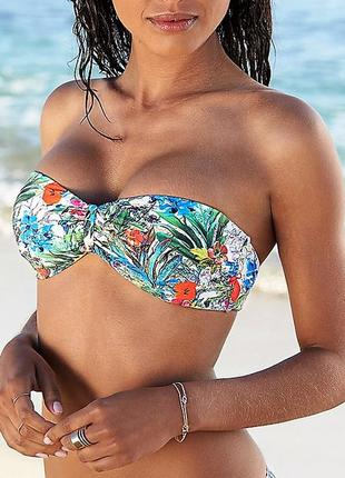 Новый яркий и красивый купальник бандо etam, франция бикини бе...