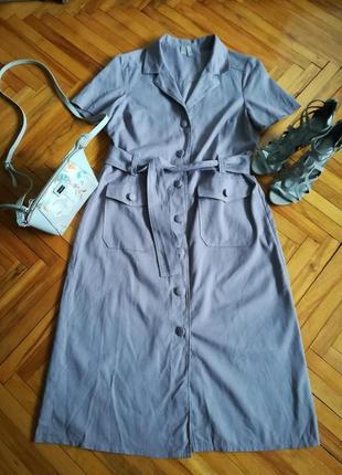 Красивое модное платье-рубашка от asos