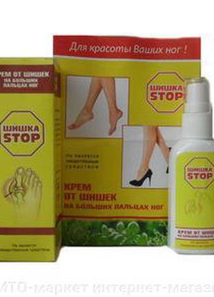 Шишка СТОП - Крем от шишек на больших пальцах ног, шишка на стопе