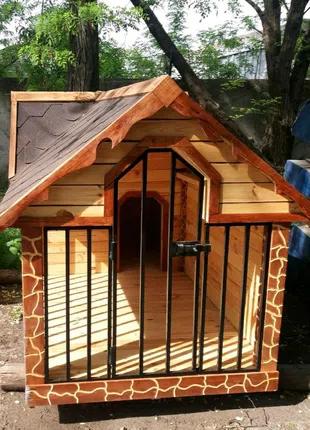 Вольер деревянный утепленный для собаки в наличии Одесса