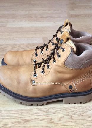 Кожаные ботинки wrangler 41 размера в отличном состоянии
