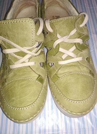 Кожаные макасины кеды кроссовки туфли josef seibel р. 38 оригинал