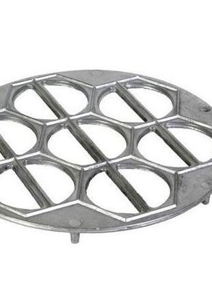 Вареничница круглая алюминиевая 24см Украиниа